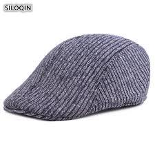 2019 <b>SILOQIN Autumn</b> And <b>Winter Men's</b> Cap Thick Warm Cotton ...