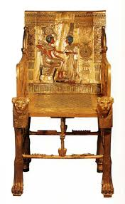 point furniture egypt x: throne of tutenkhamen c   bc from the tomb of tutankhamen