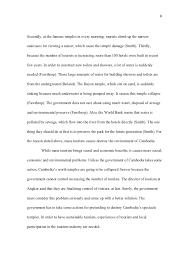 tourism essay 6