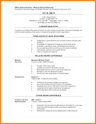 8 Office Administrator Resume Incidental Report