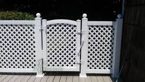vinyl lattice fence panels. Top Vinyl Lattice Fence Panels With Latice   Interstate Visions 18 A