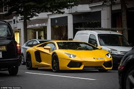 London S Streets Clogged Up By Supercars As Their Rich Owners