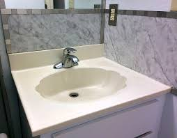 how to make a concrete countertop or vanity top with integral sink