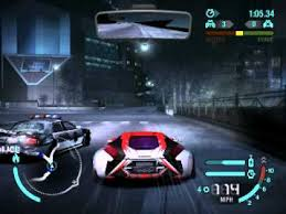 Nfs Carbon Mod Car Pursuit Youtube