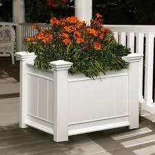 Decorative Planter Boxes Garden Decor Fantastic Garden And Front Porch Decoration Design 8