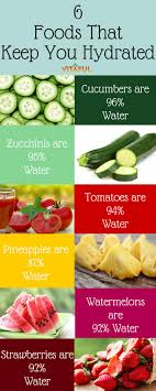 best wellness wednesday images fitness tips 6 foods that keep you hydrated food facts wellness tips health infographic