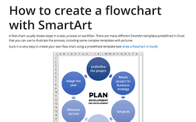 Process Chart Excel Draw A Flowchart In Excel Microsoft Excel 2016