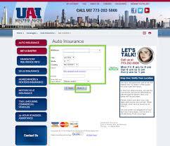 united auto insurance quote step 4