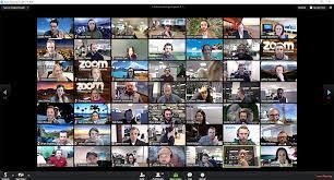 Zoom' app ...