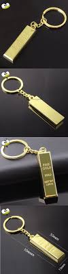 Funny Gift Gold Bar Shape Keychain Car Key Ring Key Holder Car Accessories  for Opel Astra