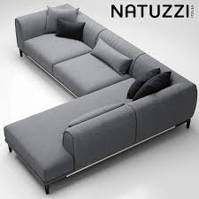 Sofa Natuzzi Trevi 3d Model In 2019 Living Room Sofa