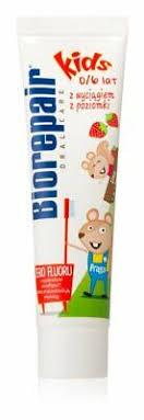 <b>Biorepair Junior</b> Toothpaste <b>Children Strawberry</b> Flavor <b>Kids</b> Oral ...