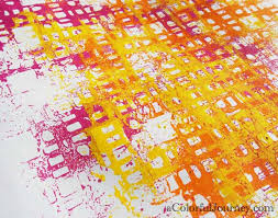Paint Patterns Magnificent Using All The Spray Paint On A Stencil For Pattern Play
