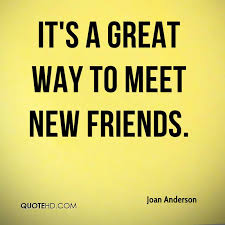 Meeting New People Quotes Mesmerizing Joan Anderson Quotes QuoteHD