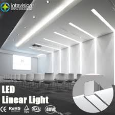 office pendant light. 40W Office Lighting Led Linear Light Recessed Pendant T