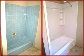 bathtub and wall liners portfolio deluxe bath acrylic liner installation shower over tile wall liner extraordinary
