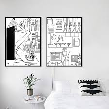 white bedroom cartoon page 3 line
