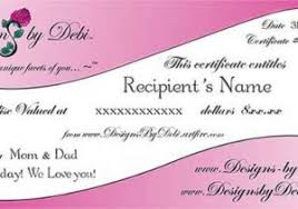 Shopping Spree Gift Certificate Template Spree Templates Magdalene Project Org