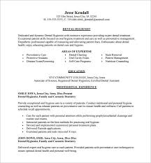 Awesome Collection Of Dental Resume Template Epic Dental Assistant