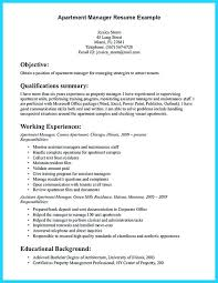 sample resume for apartment manager property manager resume samuelbackman com