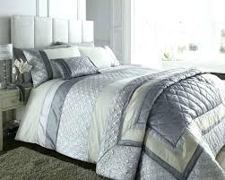 tesco duvet duvet king size covers double bed silver grey cream duvet cover bedding bed set