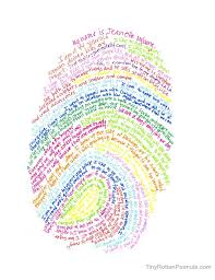@jeanette_nyberg made this cool art project for kids using their thumbprint  to create a self