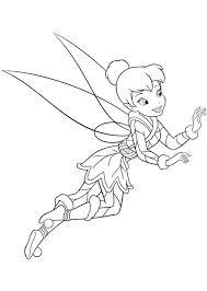 Tinkerbell Kleurplaat Disney Tinkerbell Kleurplaat Shshiinfo