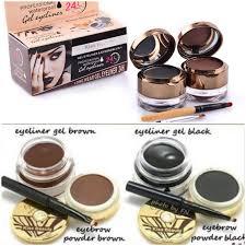 eyebrow shadow. kiss beauty 2in1 07 eyebrow shadow e