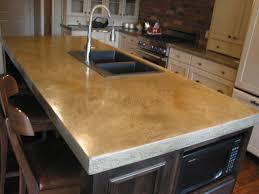 concrete countertops modern kitchen vancouver