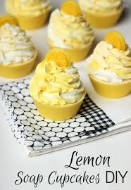 Lemon Cold Process Soap Cupcakes Diy Soap Queen