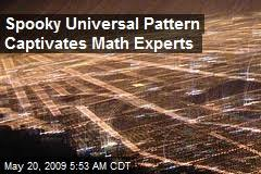 mathematicians news stories about mathematicians page newser loading spooky universal pattern captivates math experts