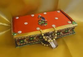 Decorated Money Box Decorated nariyal Baby shower Products shagun Envelopes 22