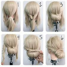 Simple Hairstyle For Long Hair the 25 best easy updo ideas chignon updo easy 8403 by stevesalt.us