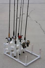 picture of pvc modular fishing rod holder
