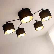 contemporary ceiling lighting. Contemporary Ceiling Contemporary Farbric Shade 5Light Cheap Modern Ceiling Lights For Lighting S