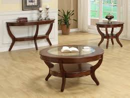 cherry wood coffee table set image and description