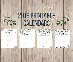 Free 2018 Printable Calendars - Twelve On Main