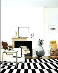 striped rug stripe dreams and decor like a rich girl ikea runner black white rugs