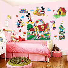 colorful mickey mouse clubhouse wall sticker 3d mural decal kids baby room decor fish wall decals fish wall stickers from gonglangdianzi01 5 88 dhgate