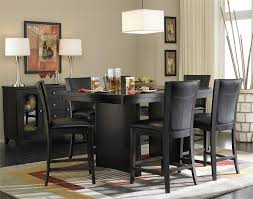 stylish black dining room table chairs dining room marvelous black dining room tables contemporary sets
