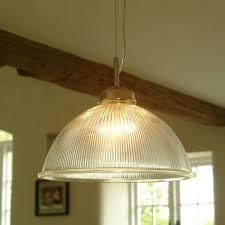 grand paris glass and nickel pendant light