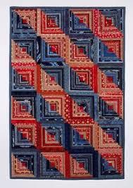 Q-BITS: Cotton Quilts | LOG CABIN QUILTS | Pinterest | Quilt ... & FREE DENIM QUILT PATTERNS---Quilt Inspiration: Reuse, reclaim, recycle: Adamdwight.com