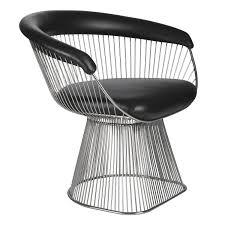 warren platner style  wire chair style  swivelukcom
