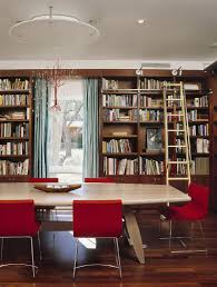 home library lighting. view in gallery custom chandelier and fabulous red chairs add color to the home library dining room lighting