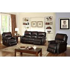 dark brown leather recliner chair. crestview dark brown top grain leather lay flat reclining sofa and two recliner chairs chair