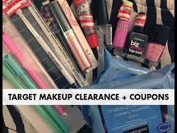target makeup clearance couponing 1 haul
