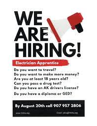 Flyer Jobs Employment Skagway Traditional Council