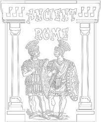 De 21 Beste Afbeelding Van Kleurplaten Romeinen Coloring Pages