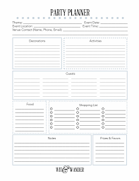 Party Planer Free Printable Party Planner Our Handcrafted Life