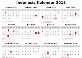 holidays of indonesia 2018 calendar printable calendar templates